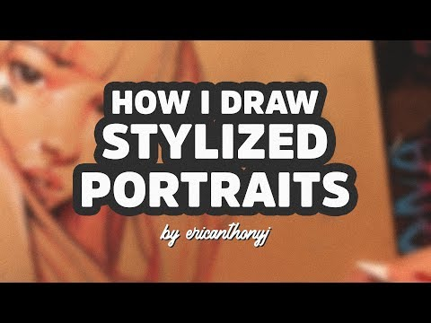 Portrait Drawing Tutorial - My #1 Technique!