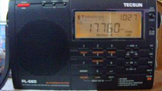 STF Radio Int. (Spl.Broadcast) 17760 KHz from India