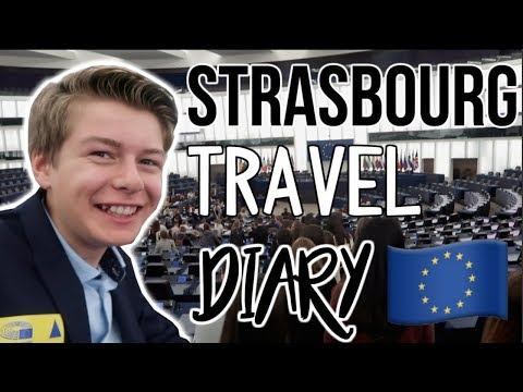 Euroscola Strasbourg  France Travel Diary! Visiting European Parliament and Centre Pompidou of Metz