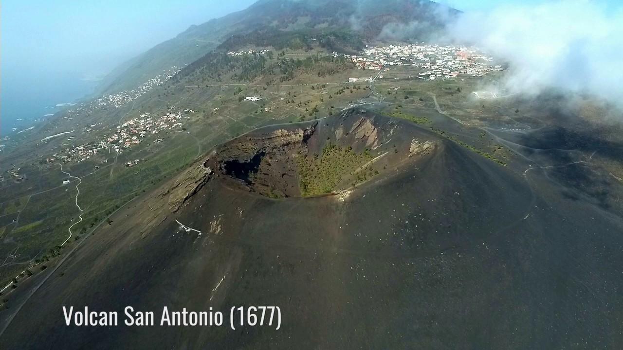 Volcans la palma teneguia san antonio youtube - Antonio palma ...