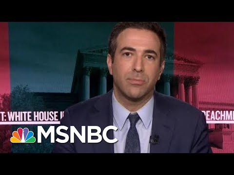 Melber: When You Hear Advocacy For Exposing Whistleblower, You're Hearing Advocacy For Crime | MSNBC