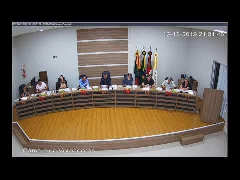 Sessão Ordinária 16/12/2019