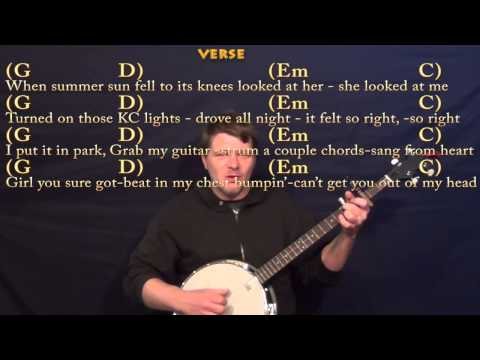 Cruise (FLORIDA GEORGIA LINE) Banjo Cover Lesson with Chords and Lyrics - Capo 3rd