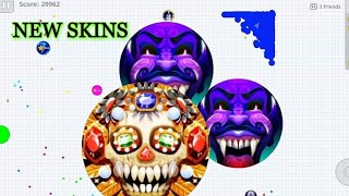 Agario NEW SKINS BEST SOLO TAKEOVER GOOD GAME PLAY IN Agar.io