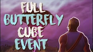 FORTNITE CUBE CRACKING EVENTO! ¡EVENTO BUTTERFLY CUBE EN VIVO! (Fortnite Battle Royale)