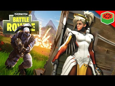 OVERWATCH BATTLE ROYALE!?   Circle, Supply Drops & More! (Workshop Custom Game)