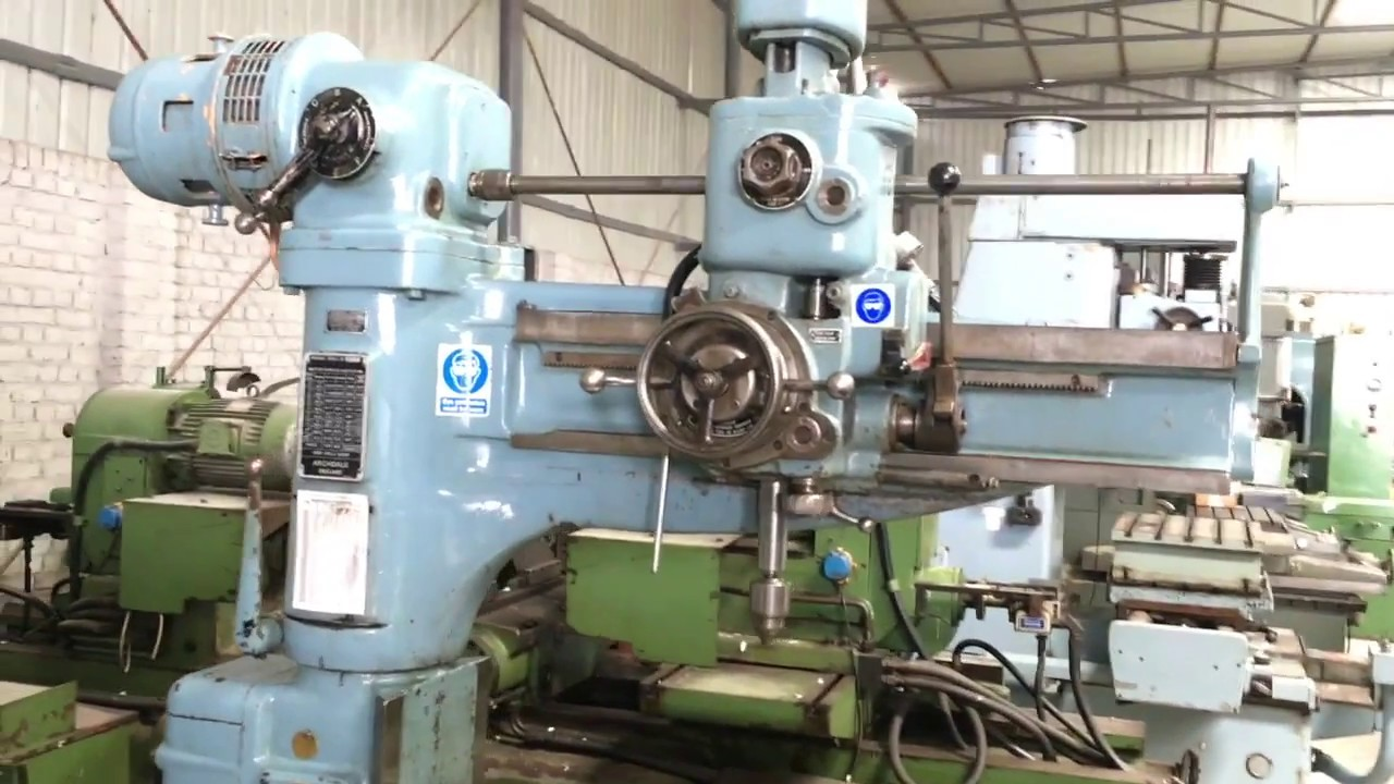 Radial Drilling Machine - Archdale