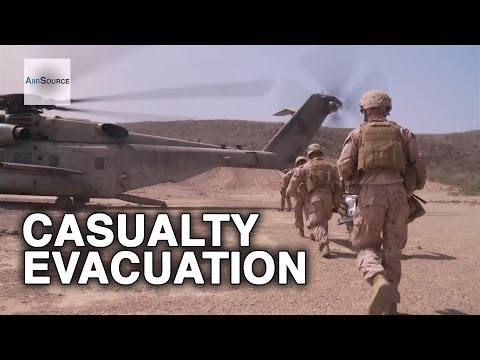 U.S. Marines Casualty Evacuation (CAS EVAC) Exercise