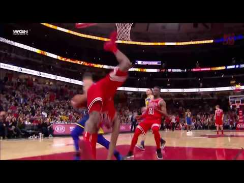 Kris Dunn Of The Chicago Bulls Leaves Mark On Court After Brutal Injury