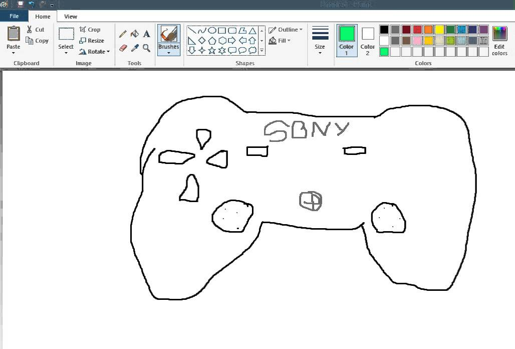 Scribble Drawing Xbox One : Best xbox one controller drawing youtube