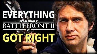 Everything Star Wars Battlefront 2 Got Right