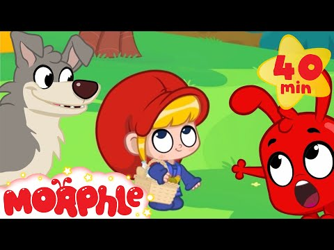 Little Red Riding Hood and Morphle - Fairy Tale Animation For Kids