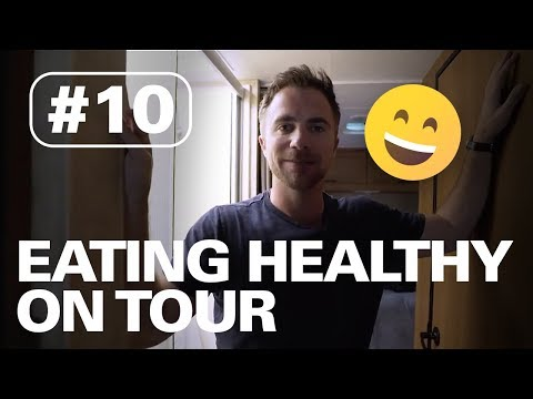 EATING HEALTHY & CHANGING EARMOLDS | HERE TO HEAR TOUR #10