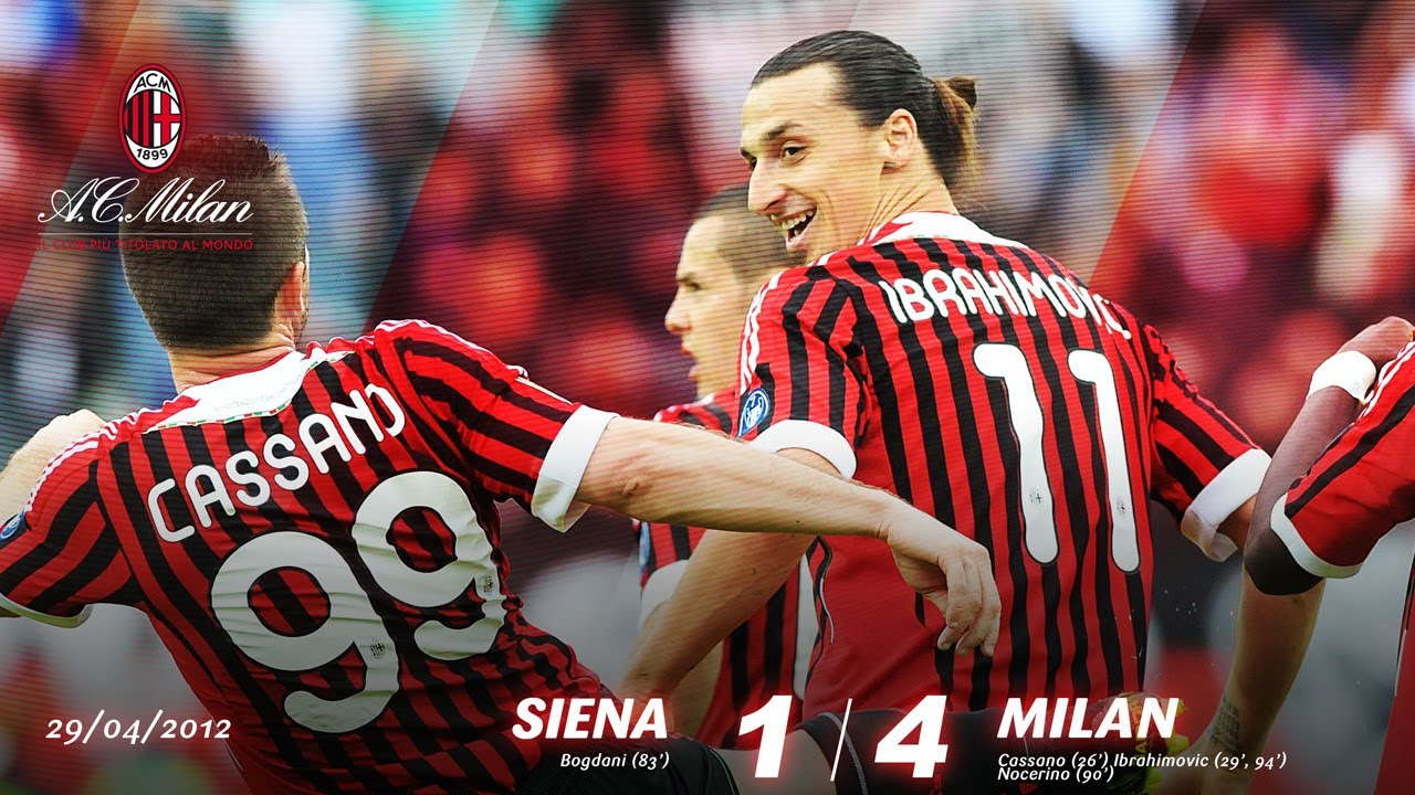 Siena-Milan 1-4