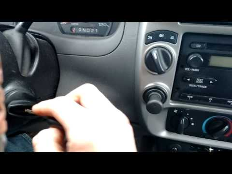How to program Ford transponder key