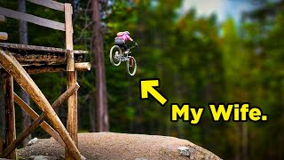 Why Is She So Good at Mountain Biking?