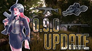 PUBG MOBILE UPDATE 0.9.0 ON TENCENT GAMING BUDDY // NEW GUNS QBU AND M762 // #pubgmobile #live