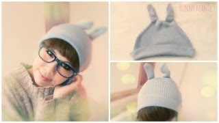 Diy Fashion : Quick Diy Bunny Beanie From An Old Sweater