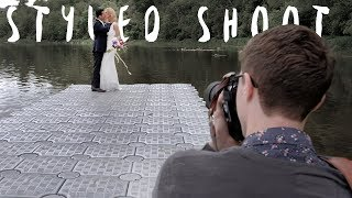 How to build a wedding photography portfolio (Styled Shoot Wedding Behind the scenes vlog)