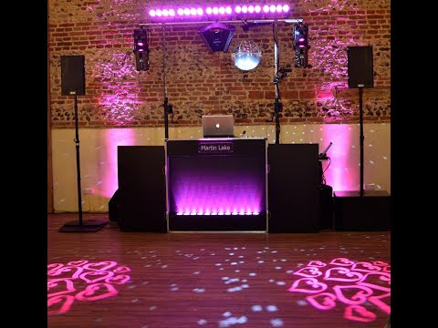 Barford Park Barn Wedding DJ Martin Lake