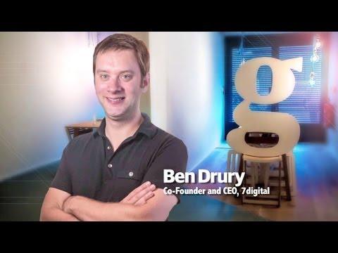 7 Digitals Ben Drury on the online music world