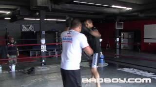 Junior dos Santos training for UFC 108
