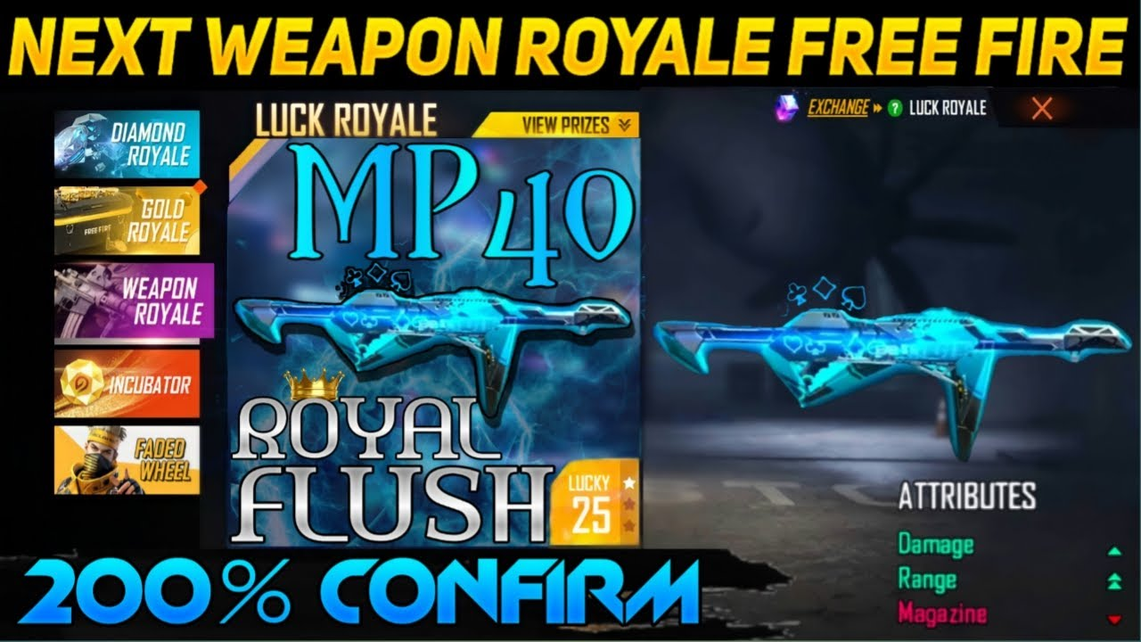 Next weapon royale free fire | New weapon royale free fire | Next Weapon Royale | New Weapon Royale