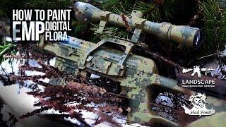 Покраска оружия в EMP (цифрофлора) / How to paint EMP (Digital flora)