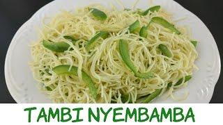 Jinsi ya Kupika Tambi Nyembamba - Kiswahili