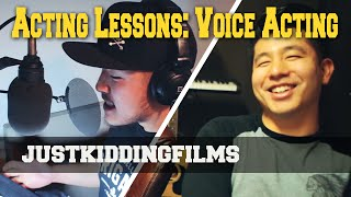 Acting Lessons: Voice Acting