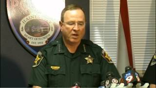 Fla. sheriff's heated response to reporter's question about 'gunfight' comment