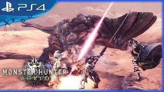 Monster Hunter: World (2018) Wildspire Waste Trailer - PS4
