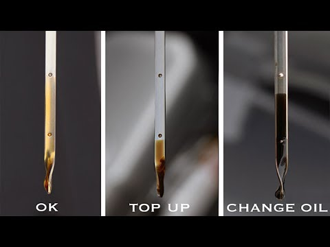 How To Check Dipstick & Engine Oil - EASY