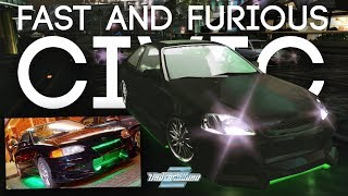 RECREATING THE FAST AND FURIOUS CIVIC - Need for Speed Underground 2 (Let's Play - #3)