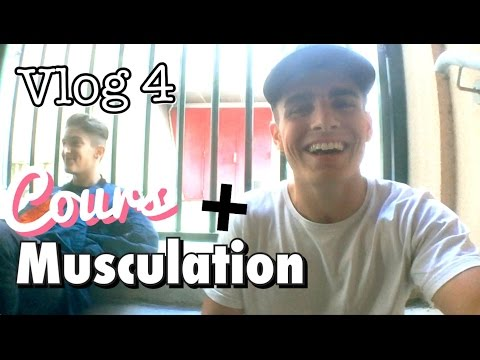 Cours + Musculation... Possible ? (VLOG #4)
