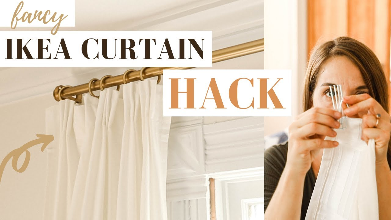 ikea curtain hack from cheap to tailored