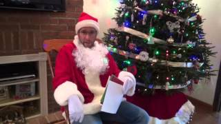 Pittsburgh Dad read letters to Santa