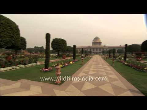 Indian President's Estate : Rashtrapati Bhavan