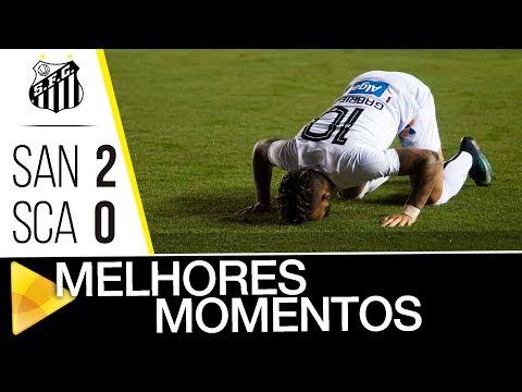 Santos 2 x 0 São Caetano | MELHORES MOMENTOS | Paulistão (14/02/18)