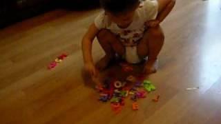 Saffron Age 3 Autism ABC...