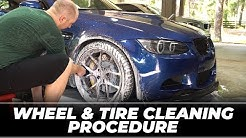Obsessed Garage Wheel & Tire Cleaning Procedure