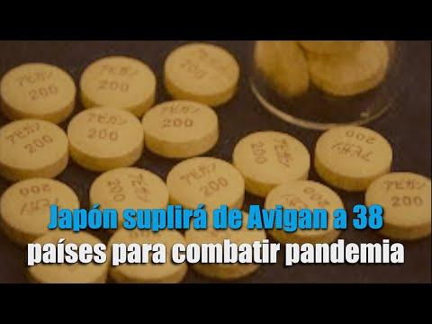 Japón suplirá de Avigan a 38 países para combatir pandemia