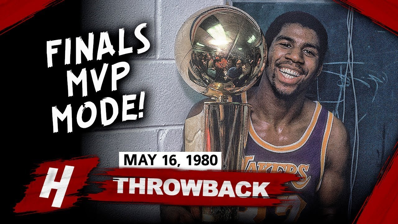 Rookie Magic Johnson Full Game 6 Highlights Vs 76ers 1980 Nba Finals 42 Pts 15 Reb Finals Mvp Youtube