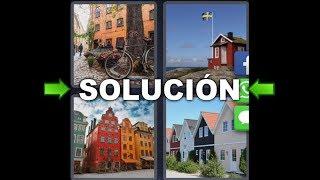 4 Fotos 1 Palabra Bicicleta Casas Bandera Edificio Colores - Enigma Diario Suecia 8 Letras