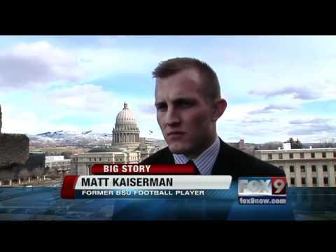 BSU's Matt Kaiserman talks about football and concussions