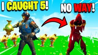 I Trolled MrTop5 With Mythic Goldfish - Fortnite