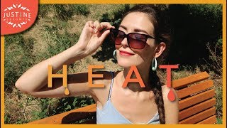 Hot/humid weather: hot weather clothing tips to survive the heat ǀ Justine Leconte