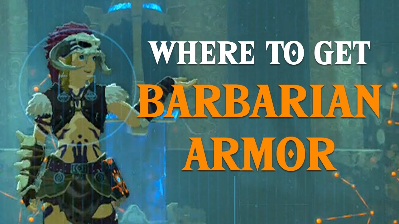 BOTW Where to find Barbarian Armor Set  Legend of Zelda