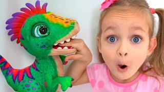 Kinderlied - Das Wiegenlied für Dino   Lullaby for Dino - Kids Song