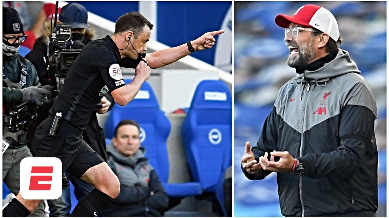 Brighton vs. Liverpool REACTION: Klopp 'must stop complaining' about fixture congestion | ESPN FC
